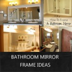 bath mirror frame