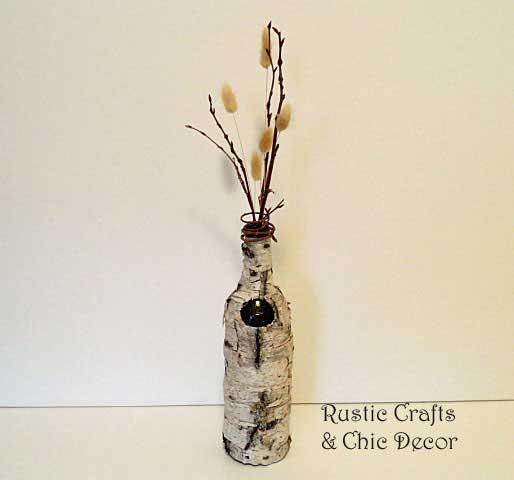 recycled bottle crafts by rustic-crafts.com