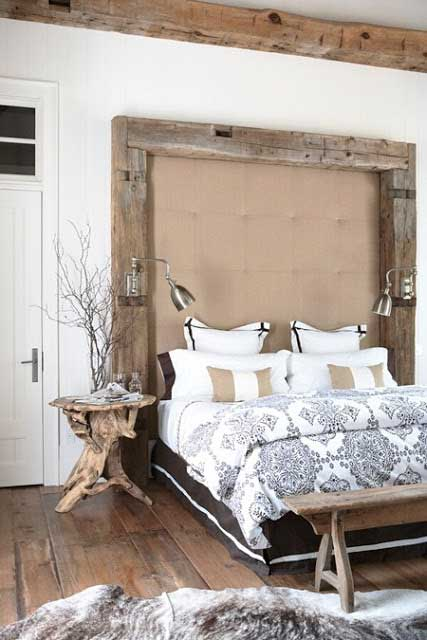Six Ultra Rustic Chic Bedroom Styles