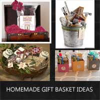 homemade gift basket ideas rustic crafts chic decor