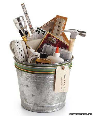housewarming bucket