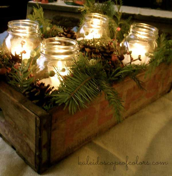 Top mason jar craft ideas for the holidays rustic