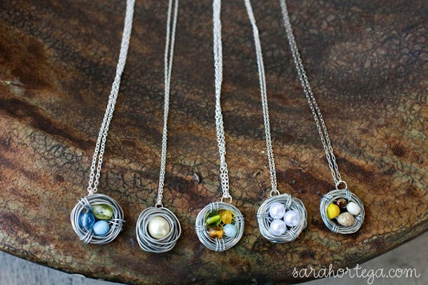 nest necklaces