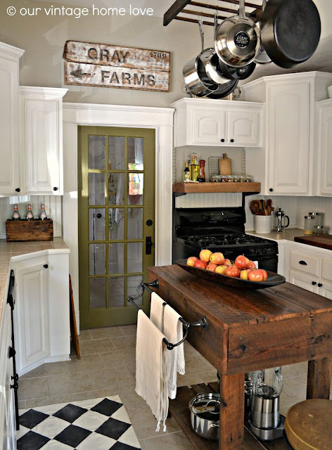 Bon Modern Vintage Kitchen Fif Ideas For Decorating Rustic Chic Crafts