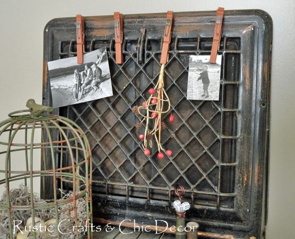 heat register clip board
