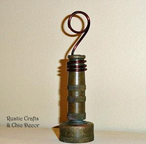hose nozzle photo holder