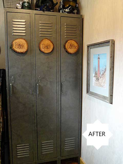 diy lockers by rustic-crafts.com