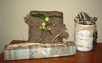rustic gift wrap ideas