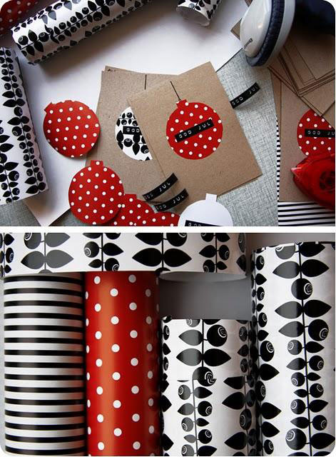 wrapping paper greeting cards