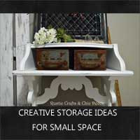 creative storage ideas by rustic-crafts.com