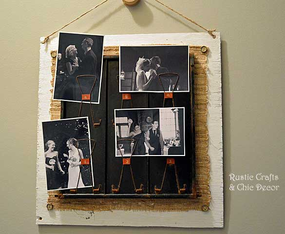 industrial photo display