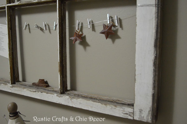 old window clip storage