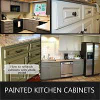 Ideas For Painted Kitchen Cabinets Rustic Crafts Amp Chic