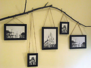 twig photo display