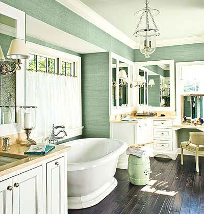 Rustic Chic Luxury Bathroom Designs