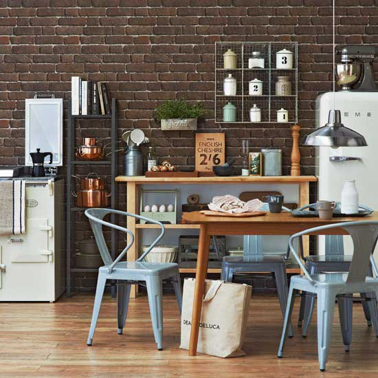 Industrial chic kitchens rustic crafts chic decor - Style industriel chic ...