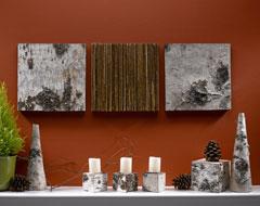 birch wall art
