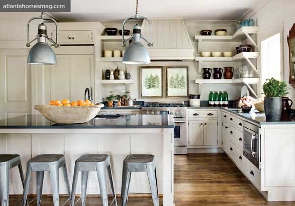 Industrial Chic Kitchens: