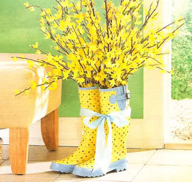 spring decorating idea by miss a