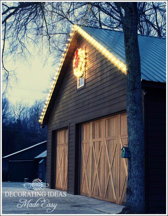 Decorating Ideas > Rustic Style Cabin Garages  Rustic Crafts & Chic Decor ~ 221837_Outside Garage Decorating Ideas