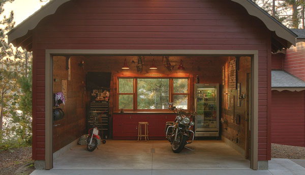 Rustic style cabin garages rustic crafts chic decor for Garage cabins