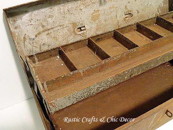 rusty tool box