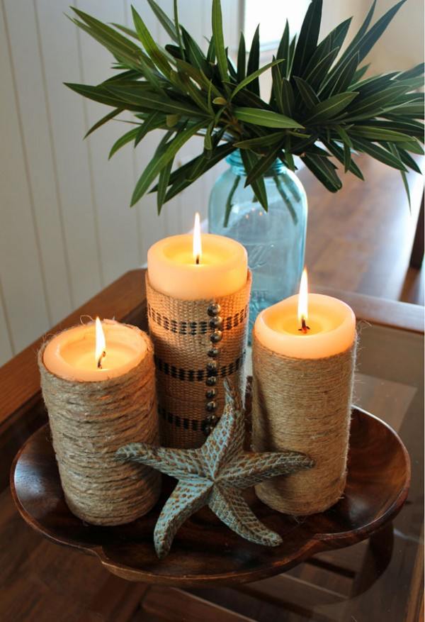 twine candles