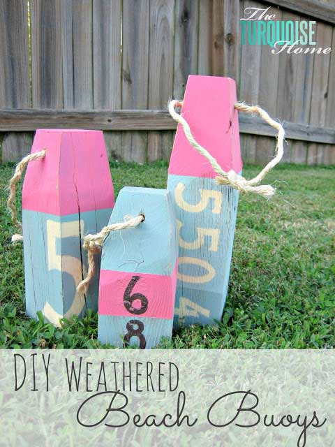 diy beach buoys