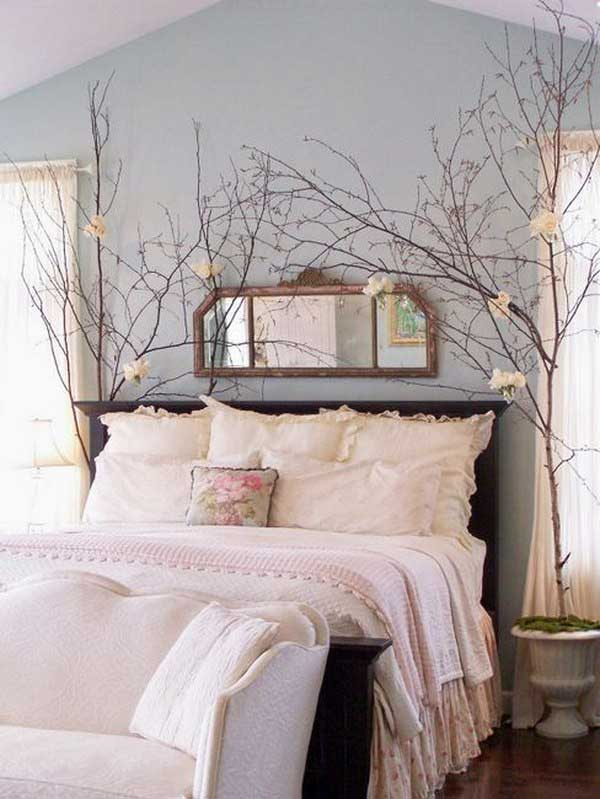 Tree Branch Decor Ideas. Bedroom Branch Centerpieces By 1Decor. Bedroom  Branch Centerpieces
