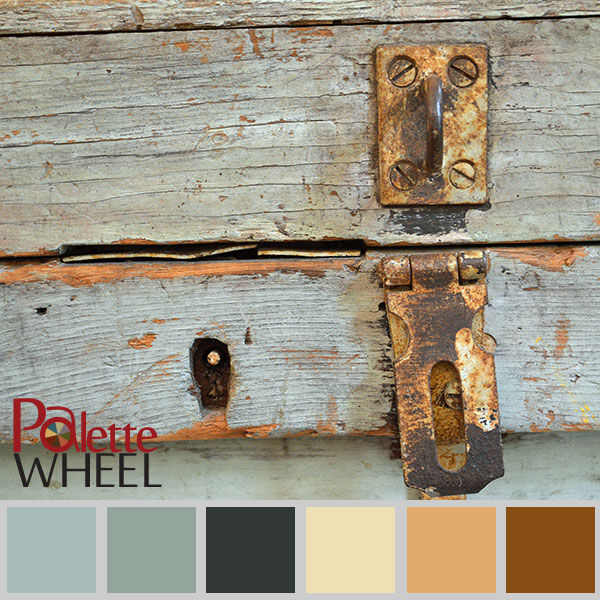 rustic chic color palette