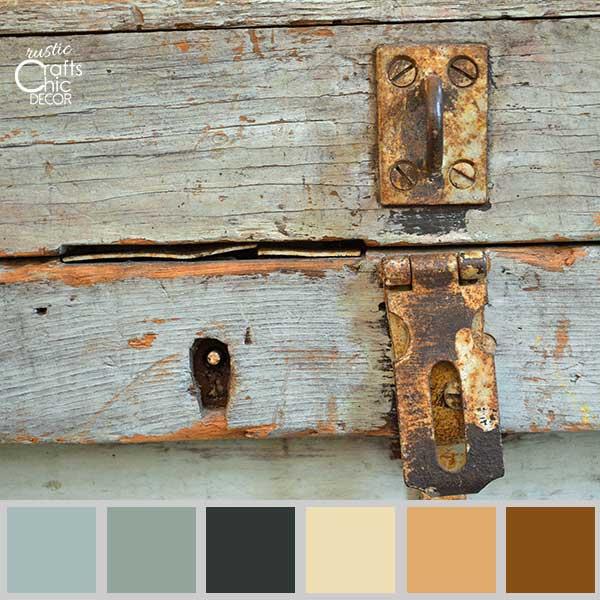 rustic chic color palette