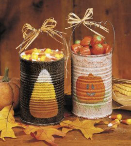 Rustic halloween crafts to decorate your home rustic for Country woman magazine crafts