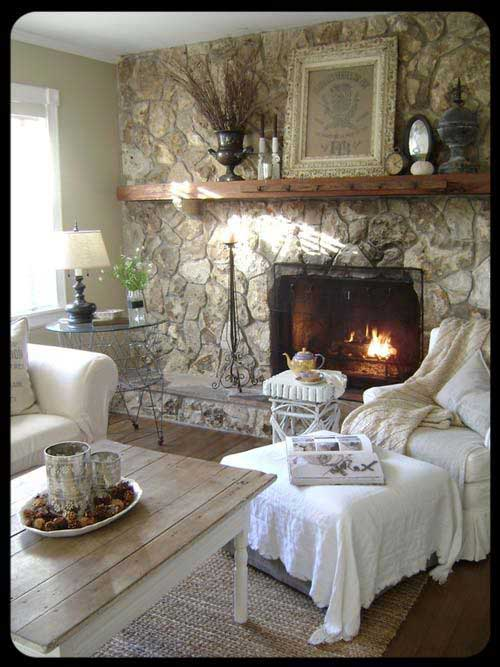 Rustic chic living room ideas rustic crafts chic decor - Rustic chic living room ...