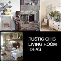Rustic Chic Living Room Ideas - Rustic chic living room