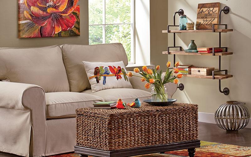 spring decorating ideas | rustic crafts & chic decor