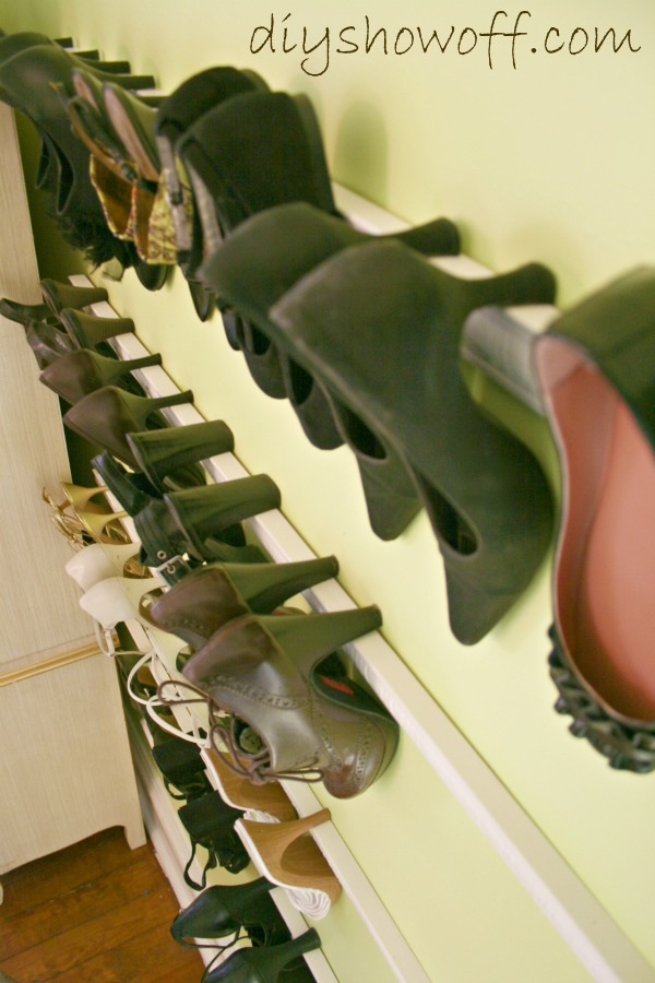 Moulding Shoe Rack
