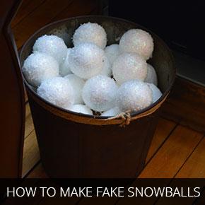 how-to-make-fake-snowballs