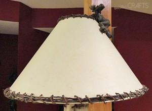 diy-rustic-lampshade