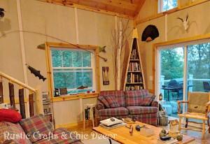 cabin-walls