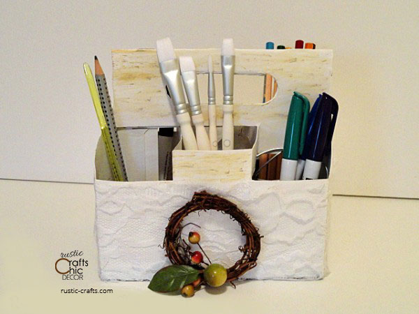 recycled storage container craft