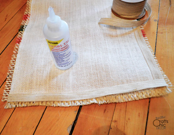 how to make a placemat