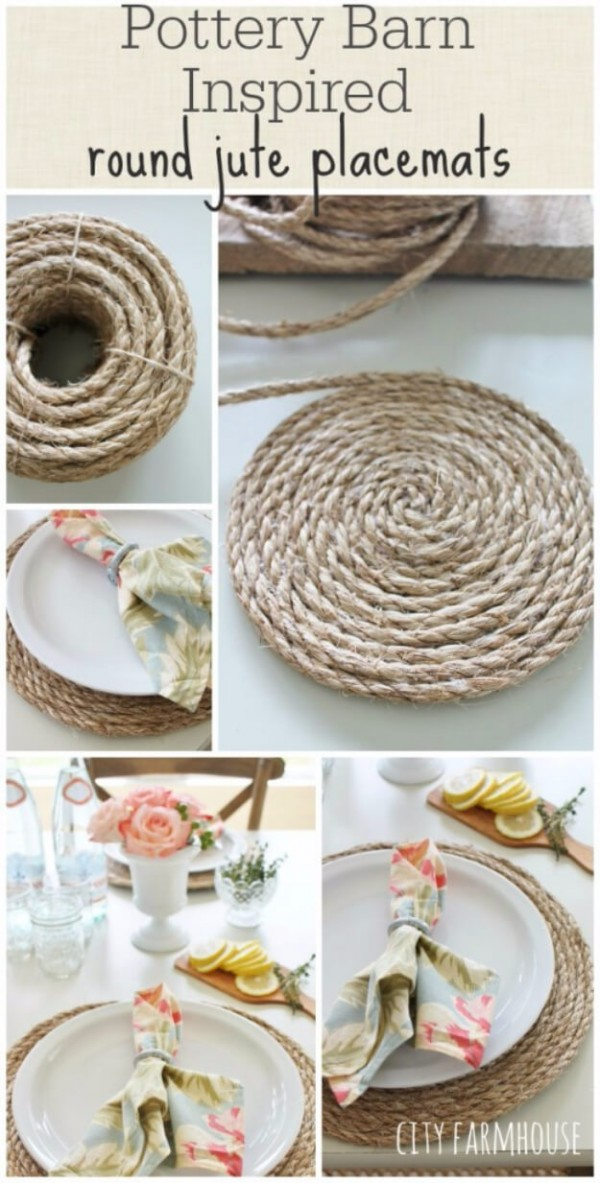 farmhouse kitchen placemats