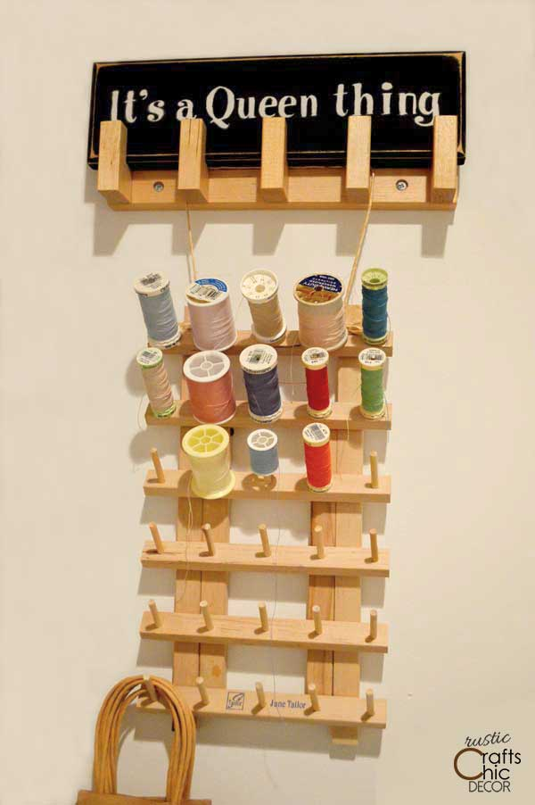 craft room thread organization