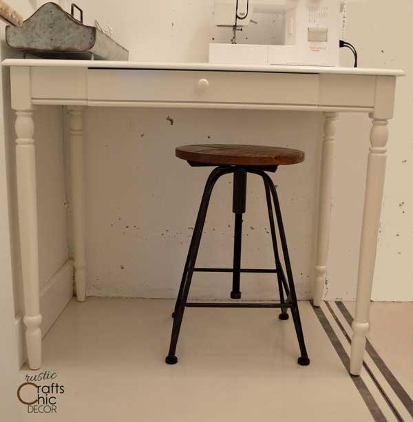 craft room sewing desk