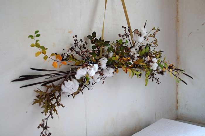 diy cotton garland