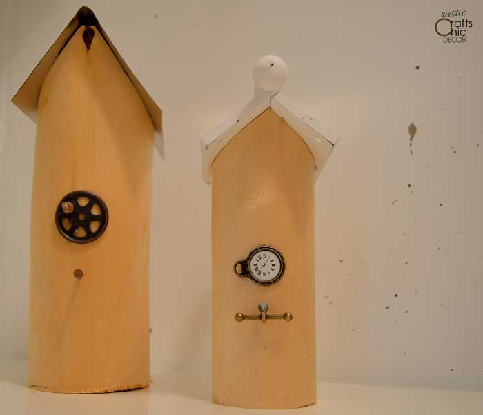 diy decorative birdhouses
