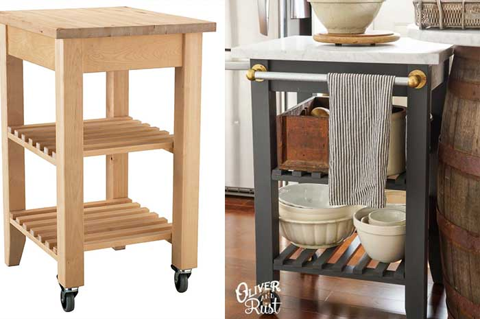 ikea hacks kitchen island