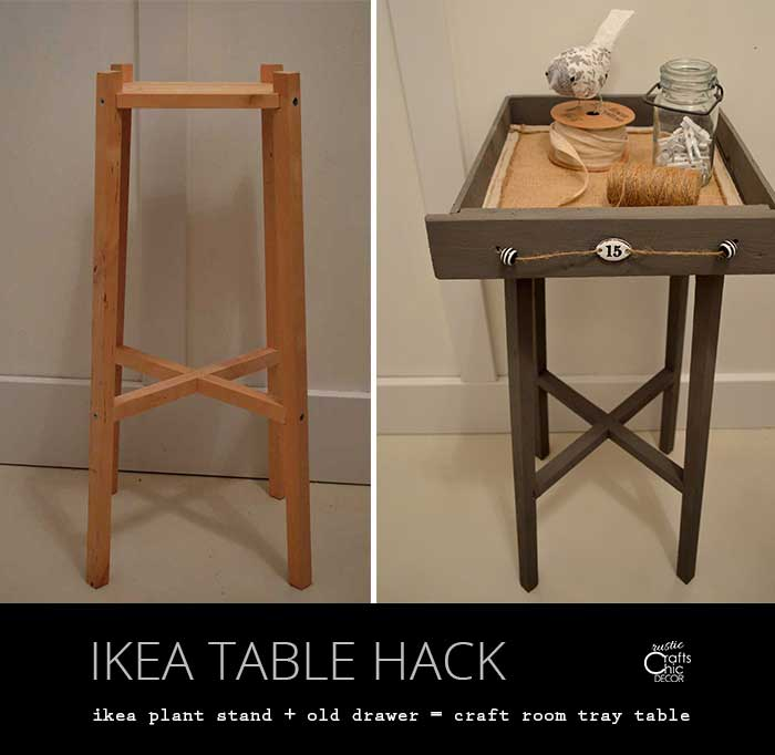 ikea table hack