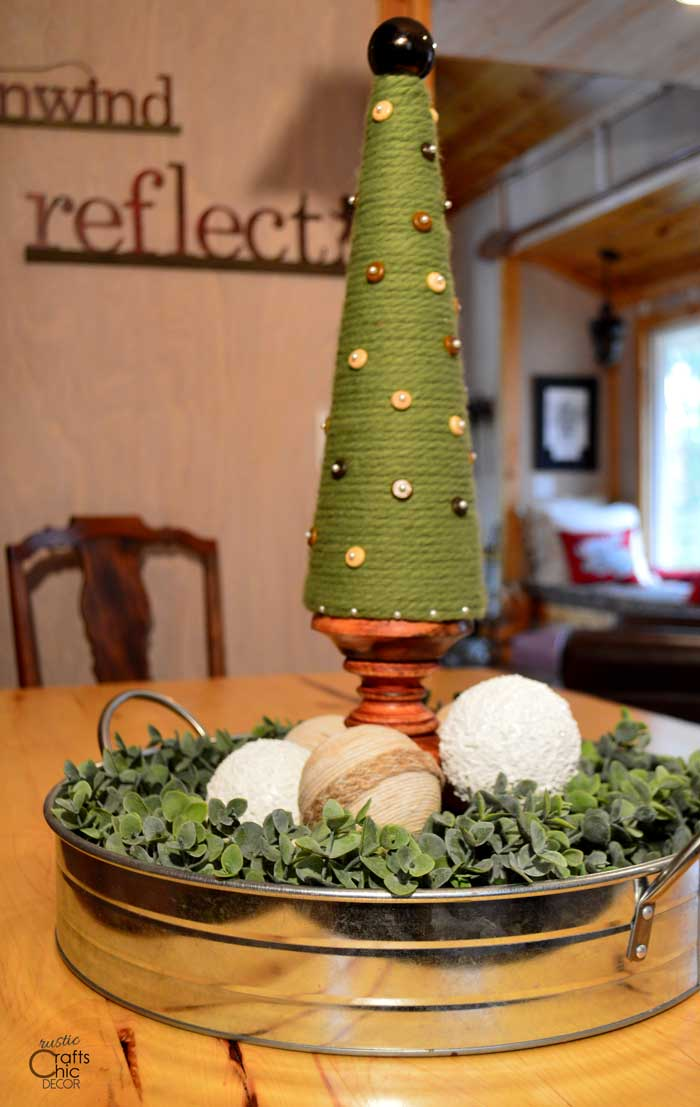 how to make cone shaped christmas trees