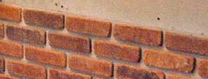 how to install a thin brick wall